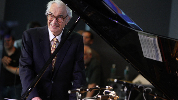 Jazz pianist Dave Brubeck, 91, died December 5 from heart failure, said his manager, Russell Gloyd.