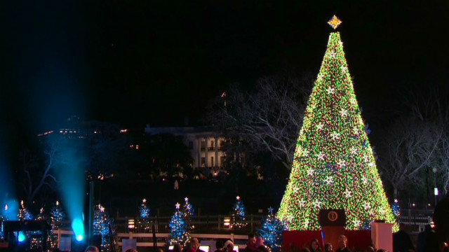 National Christmas Tree lights up D.C.