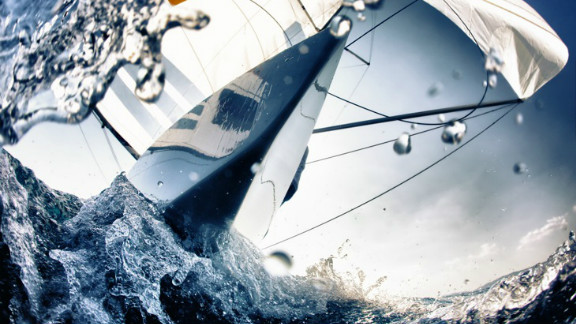 Ulf Sommerwerck took this unusual water-level shot during the International Sailing Federation World Cup in Mallorca, Spain.