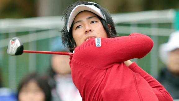 Ryo Ishikawa is one of Japan