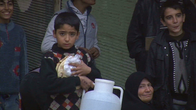 Cold, hunger add to misery in Aleppo