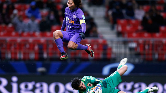 Hisato Sato had equalized in the first half, but on this occasion the J-League