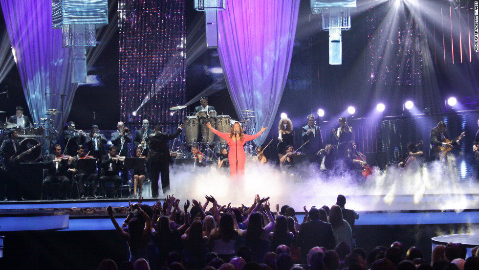 "Rivera performs at the Billboard Latin Music Awards in April 2012. Rivera was known to fans as ""La Diva de la Banda,"" or the Diva of Banda Music, establishing herself as a musical powerhouse with her Spanish-language performances of regional Mexican corridos, or ballads. In recent years, she had been working to crack the English-language U.S. market."