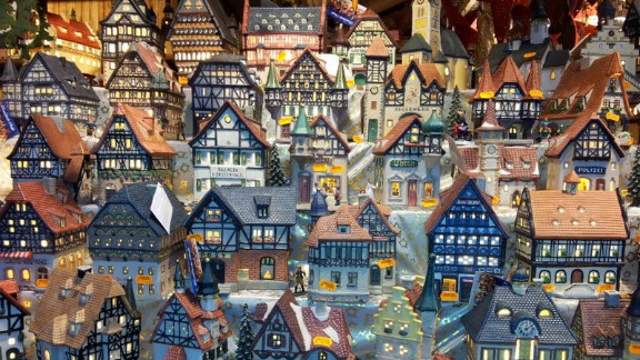 """<a href=""""http://ireport.cnn.com/people/ALin77"""">Angeline Hwang</a> took this picture of model cottages at a Christmas market in the German town of Hanau, the birthplace of the Brothers Grimm. German Christmas markets can have many themes, she said, and pop-up throughout the country during the festive months."""