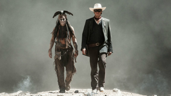 """The Lone Ranger"" starring Johnny Depp and Armie Hammer is just one of the films on tap for the new year."