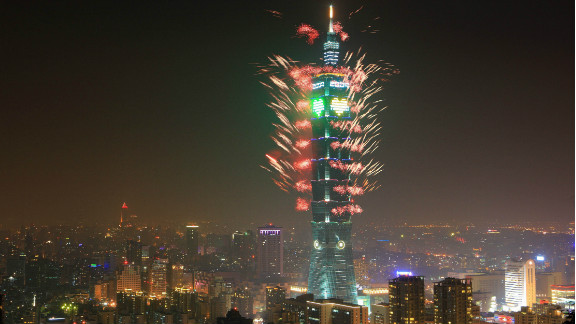 """The Taipei 101 in Taiwan was completed in 2004 and held the """"world's tallest"""" title -- at 508 meters -- for about six years. Its opening coincided with the bursting of the global tech bubble."""
