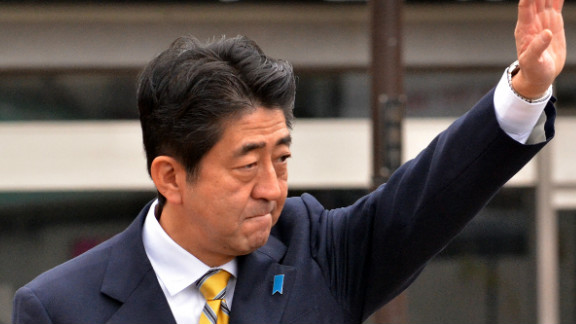 Shinzo Abe is promising a decisive shift in Japan's economic policy.