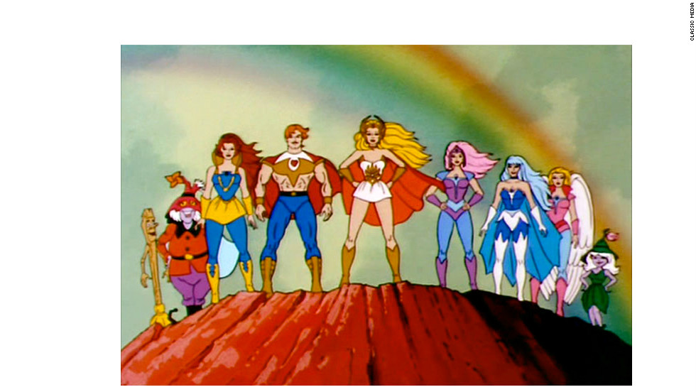 "An animated TV series called ""She-Ra: Princess of Power"" began airing in 1985."