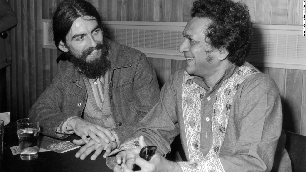 Harrison and Shankar worked together on recordings and tours in the 1970s.