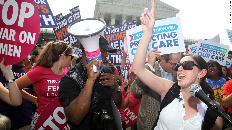 The Supreme Court upheld President Barack Obama's healthcare reform initiative in a landmark 5-4 vote in June that supported the politically charged law's individual mandate requiring Americans to purchase health coverage.