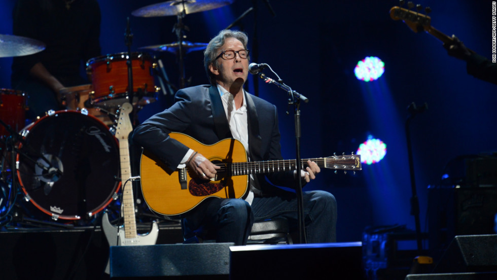 "Legendary guitarist and singer Eric Clapton performed at the Madison Square Garden event. Concert organizers said the concert was accessible to 2 billion people worldwide, via television and the internet. ""We are having high donation volume on the web,"" organizers tweeted."
