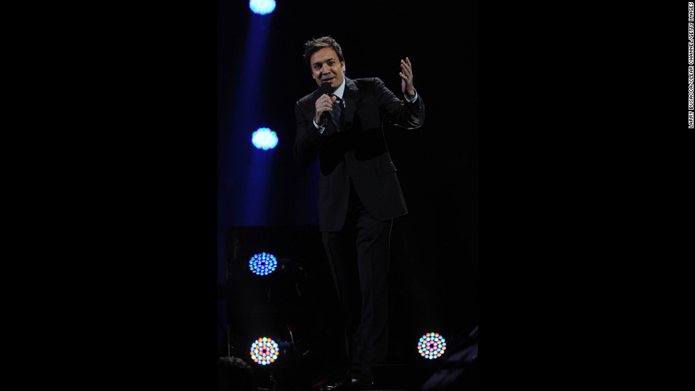 """Tonight Show"" host Jimmy Fallon also took part. ""The response from the entertainment community to help those most affected by Sandy has been nothing short of astounding,"" the producers said in a statement."