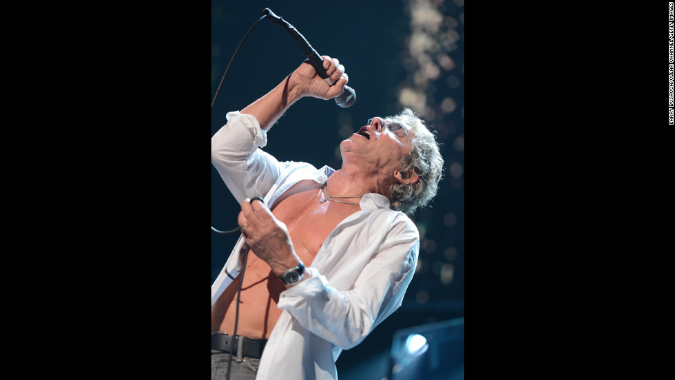 "Roger Daltrey and The Who's set included ""Who Are You"" and ""Pinball Wizard."""