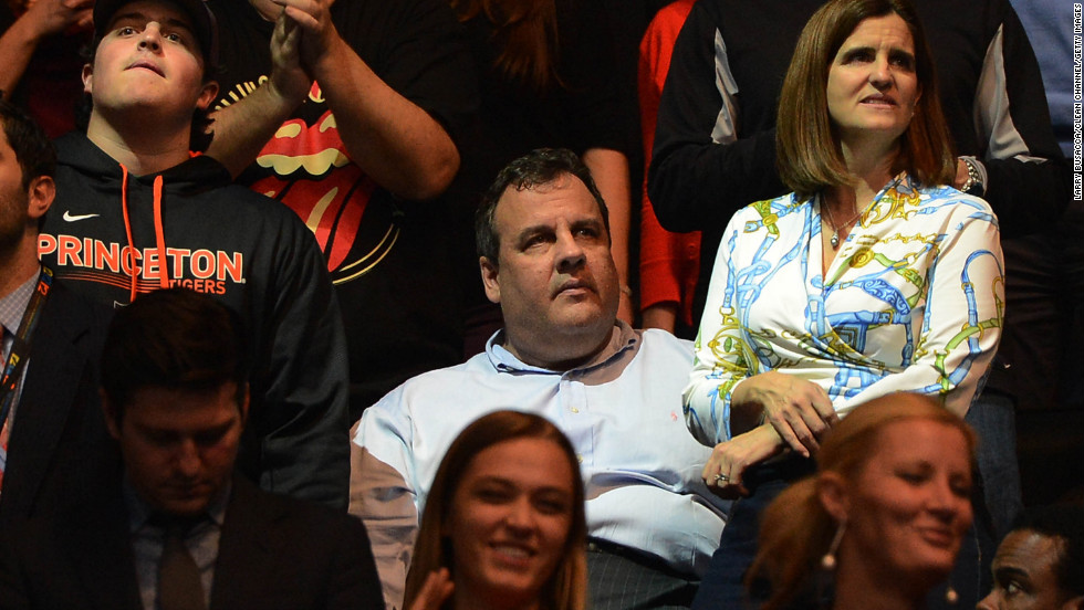 Christie also attended the concert. He said at the time that Sandy-related storm costs in his state were an estimated $36.8 billion. New York Gov. Andrew Cuomo told reporters the total cost in his state was $41 billion.