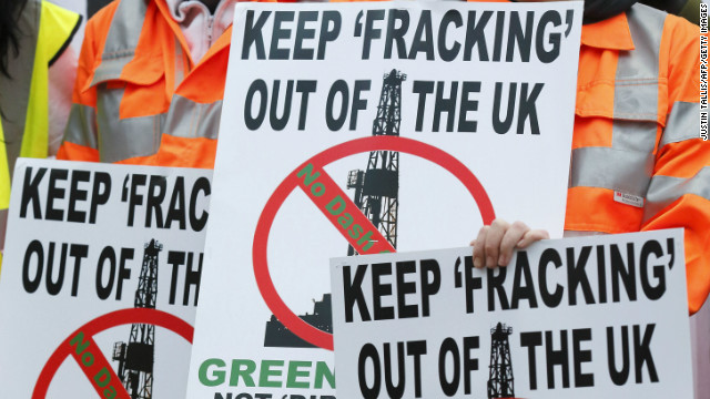 UK's lift of fracking ban causes concern
