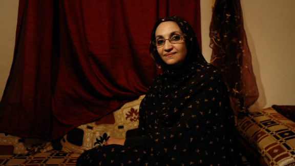 Aminatou Haidar is a Sahrawi human rights activist in Laayoune. She is also the president of the Collective of Sahrawi Human Rights Defenders.