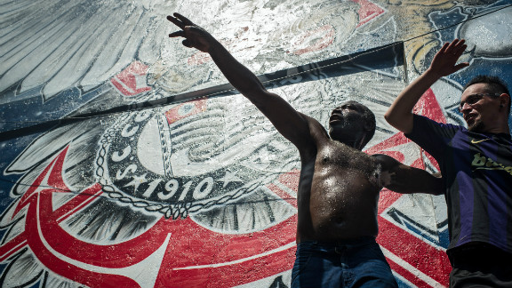 """""""I'm conscious 30 million supporters need to be made happy,"""" said Corinthians coach Tite ahead of the semifinal against Al-Ahly."""
