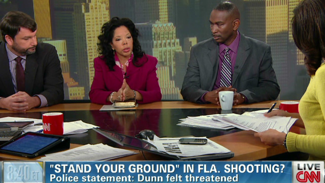 Davis' parents talk 'stand your ground'