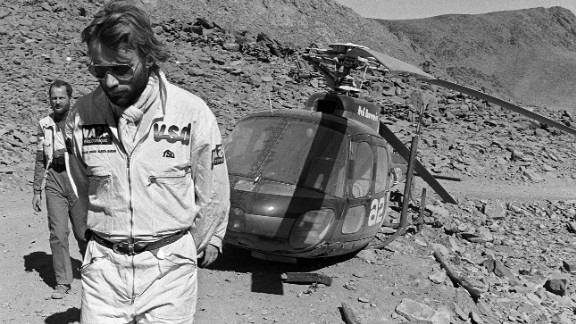 """The race was the idea of Frenchman Thierry Sabine after he got lost on his motorbike in the desert during the Abidjan-Nice Rally back in 1977. """"A challenge for those who go, a dream for those who stay behind,"""" is how Sabine described the inaugural Dakar."""