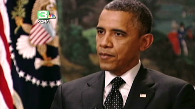 Obama on Rice withdrawal, fiscal cliff