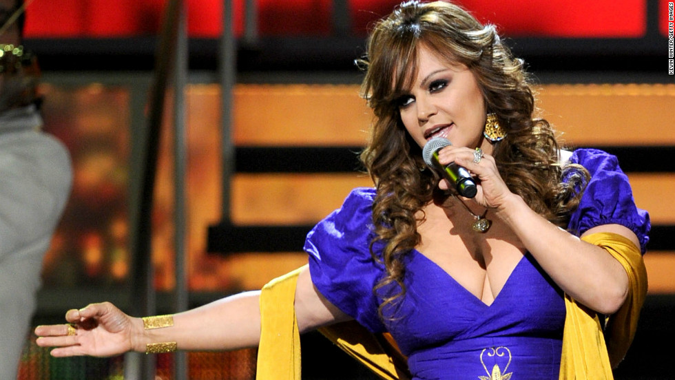 Jenni Rivera Purple Dress