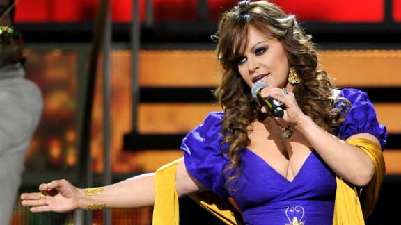 [File photo] Jenni Rivera performs at the GRAMMY Awards at the Mandalay Bay Events Center, November 11, 2010, Las Vegas.