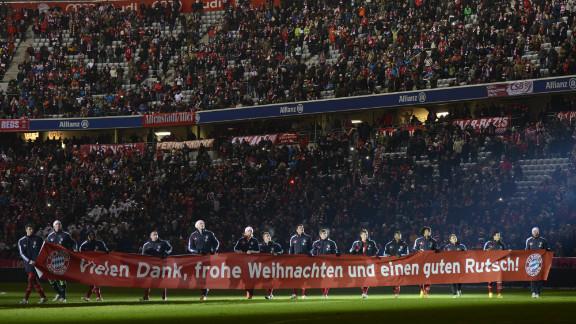 However, Bayern