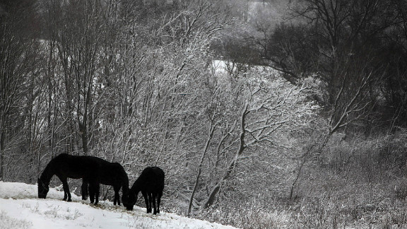 """A  December winter storm brought much needed moisture to drought-stricken Wisconsin. Jim Jorstad said, """"The photos were stunning to capture. I drove up in the rural area of Chaseburg, Wisconsin. Some of the photos...were taken in and around some Amish communities nearby."""""""