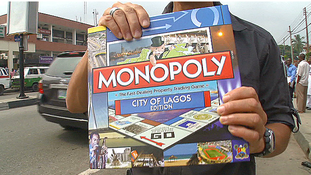 Lagos gets Monopoly edition