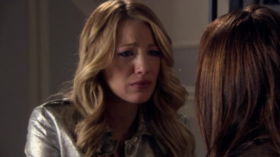 """One of the series' best scenes involved a frighteningly tearful Serena as she admitted to an """"OMG""""-worthy secret near the end of the first season."""