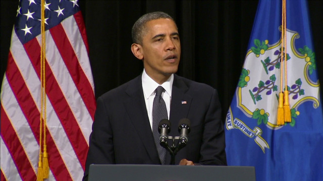 Obama: 'You're not alone in your grief'