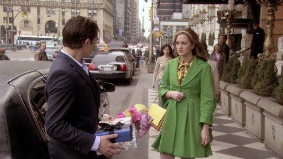 """Blair and Chuck went back and forth over whether they were or were not meant to be, and the saga finally paid off for fans at the end of the second season. Chuck returned the """"three words, eight letters"""" that Blair had told him repeatedly: """"I love you."""""""