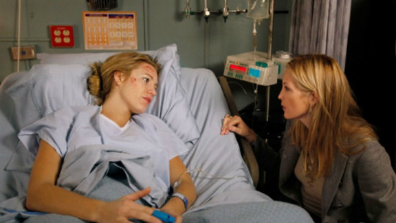 After engaging in an affair with a married politician -- who also just happened to be related to her friend and future boyfriend Nate -- Serena got into a horrible car accident, the kind of incident that happened with regularity on this show.