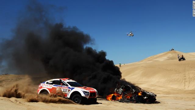 Dakar Rally hit by deaths following road accident - CNN 2831737906