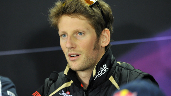 Romain Grosjean finished eighth in the 2012 Formula One drivers