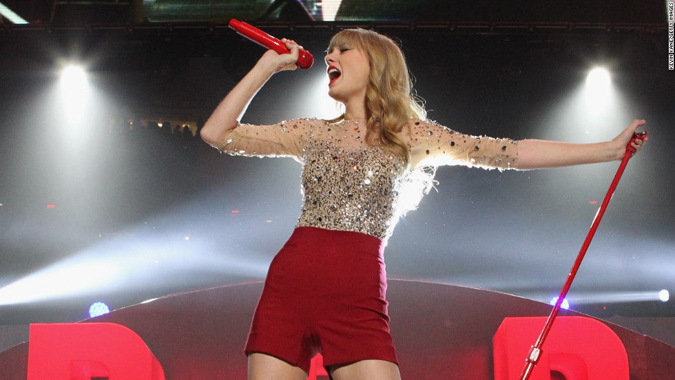 """We Are Never Ever Getting Back Together"" is the first single off Taylor Swift's ""Red,"" which was released in October. The tune is the country-pop princess's <a href=""http://www.billboard.com/artist/taylor-swift/766101#/artist/taylor-swift/chart-history/766101?sort=position"" target=""_blank"">first to hit No. 1 on the Billboard Hot 100</a>; it also earned Swift a <a href=""http://marquee.blogs.cnn.com/2012/12/06/fun-dan-auerbach-frank-ocean-lead-grammy-nods"" target=""_blank"">Grammy nod</a> for record of the year."