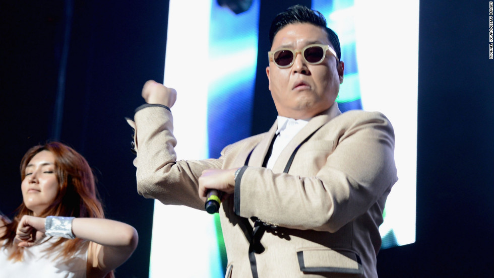 "South Korean artist Psy's ""Gangnam Style"" music video became the <a href=""http://edition.cnn.com/2012/11/24/showbiz/gangnam-style/index.html?hpt=hp_t3"" target=""_blank"">most-watched YouTube video</a> of all time in November. Psy recently <a href=""http://www.cnn.com/2012/12/07/showbiz/psy-apology-irpt/index.html?iref=allsearch"" target=""_blank"">apologized</a> for rapping anti-American lyrics during a 2004 performance that surfaced on CNN's iReport, among other outlets."