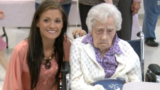 At 115,  Dina Manfredini was named the world's oldest living person earlier this month