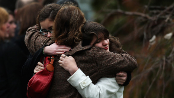 Deepak Chopra says holding each other is one way to cope with the overwhelming stress of grief.