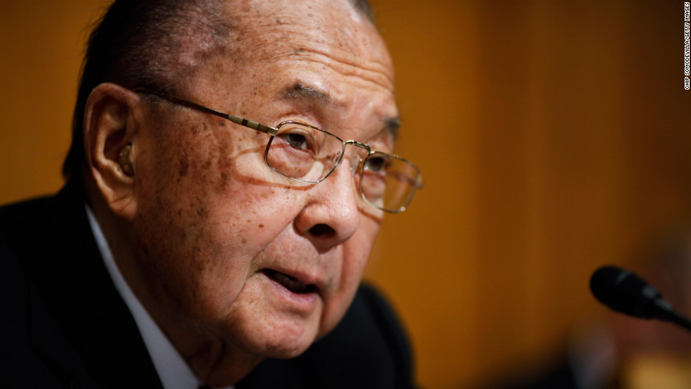 "<a href=""http://www.cnn.com/2012/12/17/politics/obit-inouye/index.html"">U.S. Sen. Daniel Inouye</a> of Hawaii, the U.S. Senate's second-longest serving member, has died at 88, his office announced December 17."