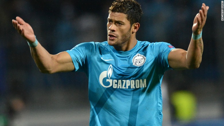 Zenit St Petersburg's big-money signing Hulk has had a tough start to life at the Russian club