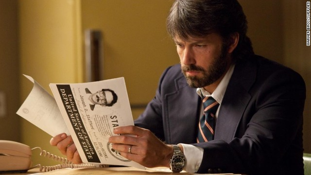 "Ben Affleck plays the lead role of Tony Mendez in ""Argo,"" which he also directed."