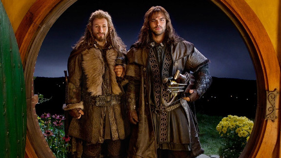 """Dean O'Gorman and Aidan Turner star in """"The Hobbit: An Unexpected Journey."""""""