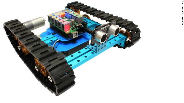 "Based in Shenzhen, Makeblock makes mechanical kits that have been described as ""lego for adults."""