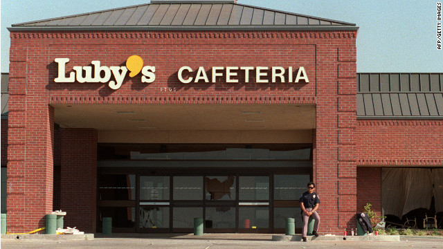 1991: Luby's Cafeteria in Texas