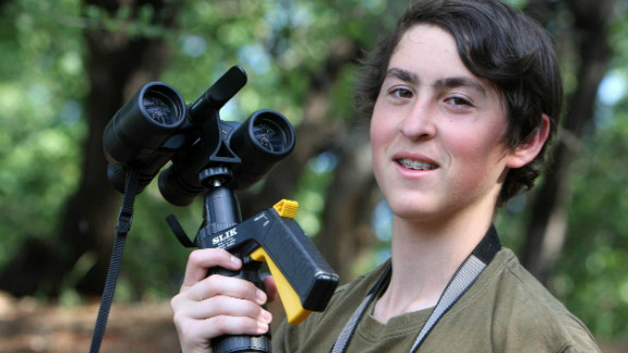 Nadav, who is based in Johannesburg, wants to pursue a career in IT in the future.