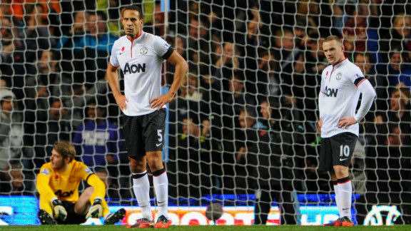 Manchester United sit top of the English Premier League as the season approaches its halfway point, but Alex Ferguson
