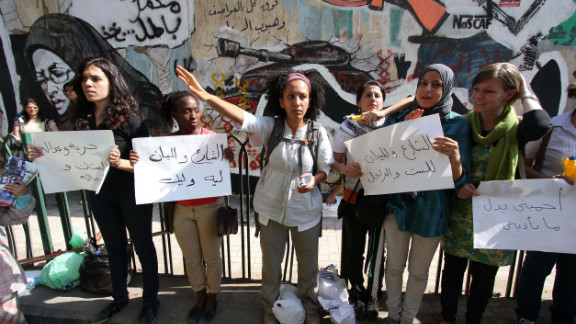 A 2008 survey by the Egyptian Center for Women's Rights found that 98% of foreign women in the country and 83% of Egyptian women have been sexually harassed.