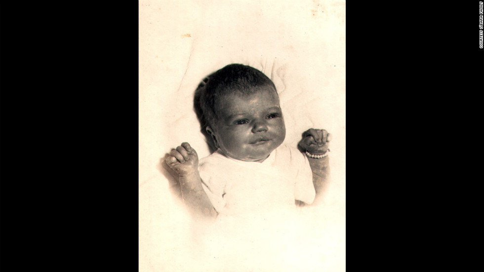 "Edwarda O'Bara at 2 days old in March 1953; she was Kathryn and Joe O'Bara's first child. ""All I ever wanted in life was to have two girls,"" Kathryn once said. ""God was very good and granted me my wish."""