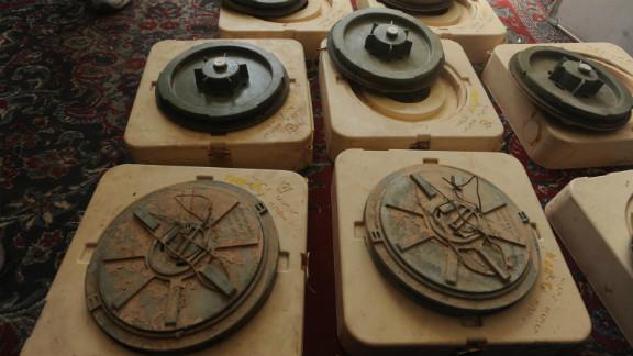 Iran made landmines.